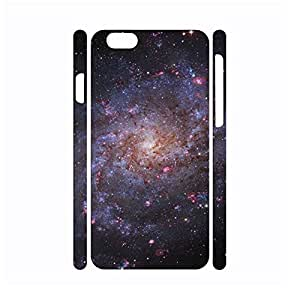 Dramatic Natural Series Galaxy Pattern Cover Skin for Iphone 6 Case - 4.7 Inch