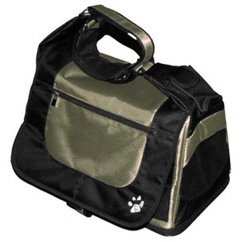 Pet Gear Messenger Bag for Cats and Dogs up to 8-Pound, Pet Carrier, Sage