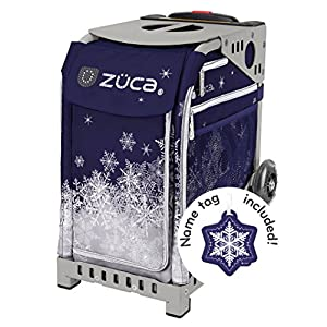 """ZUCA Bag """"Snowy Night"""" Limited Edition Free Nametag Choose your frame color"""