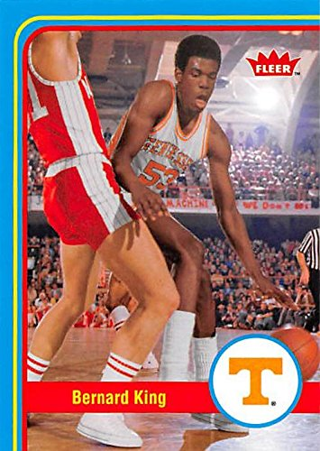 all Card (Tennessee Volunteers) 2013 Fleer Retro #12 (Bernard King Autographed Basketball)