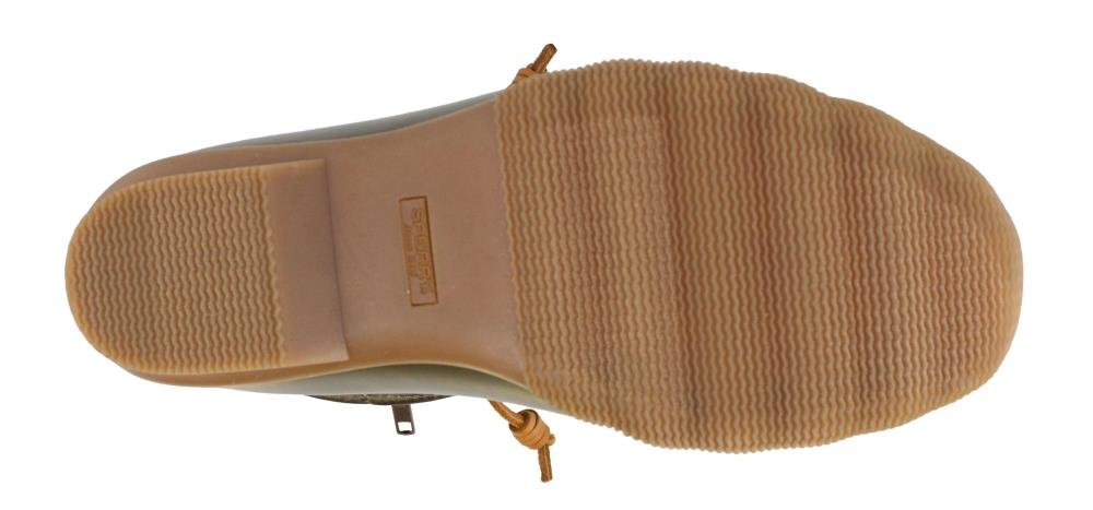 SPERRY Women's, Saltwater Shiny Quilted Rain Boots Olive 5 M by Sperry (Image #3)