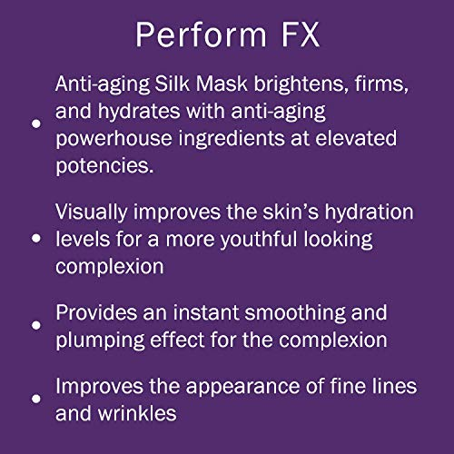 Michael Todd Nourishing Skincare Mask – Luxury Anti Aging Formula for Face with Organic Aloe Vera – For All Skin Types – (6) 25mL Masks
