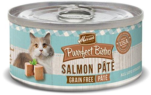 Merrick Purrfect Bistro Grain Free, 3 oz, Salmon Pate - Pack