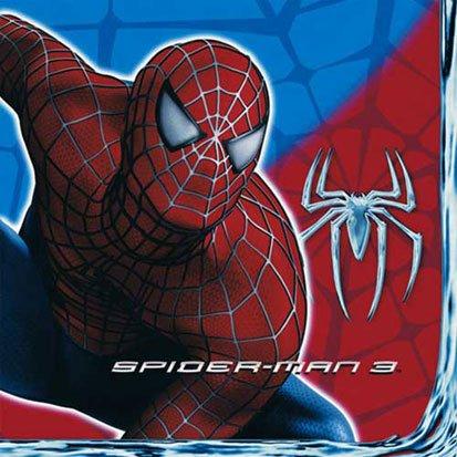 Spider-Man 3 Lunch Napkins 16ct (Spider Man 3 Lunch Napkins)