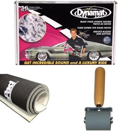 Dynamat 10455 18 x 32 x 0.067 Thick Self-Adhesive Sound Deadener with Xtreme Bulk Pack, Set of 9