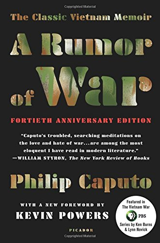 Book cover from A Rumor of War: The Classic Vietnam Memoir (40th Anniversary Edition) by Philip Caputo