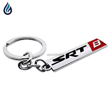 Llavero de metal con logotipo SRT8 para Jeep Grand Cherokee ...