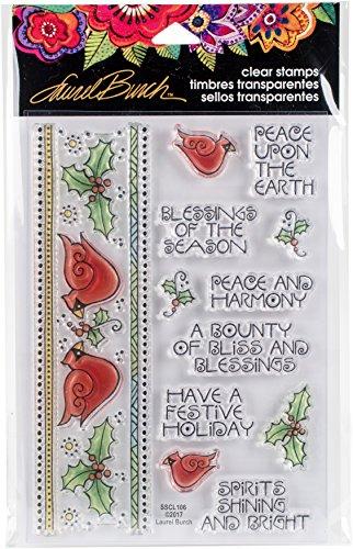 Border Stamp (Stampendous SSCL106 Clear Stamp Set Cardinal Border)