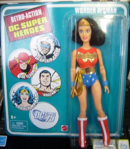 Retro-Action DC Super Heroes Wonder Woman Figure