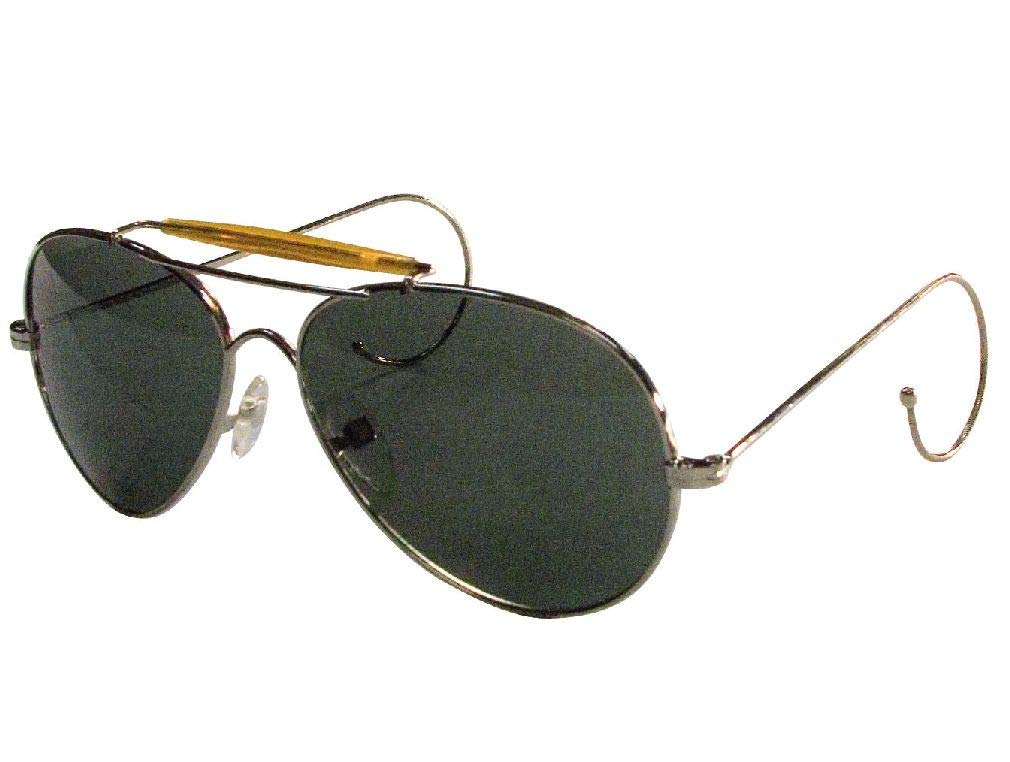BlackC Sport US Air Force Style Aviator Sunglasses with Case