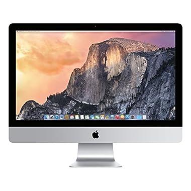 Apple iMac MF885LL/A 27-Inch Desktop (3.3 Ghz Quad-core processor,1 TB Hard Drive,8GB DDR3L)