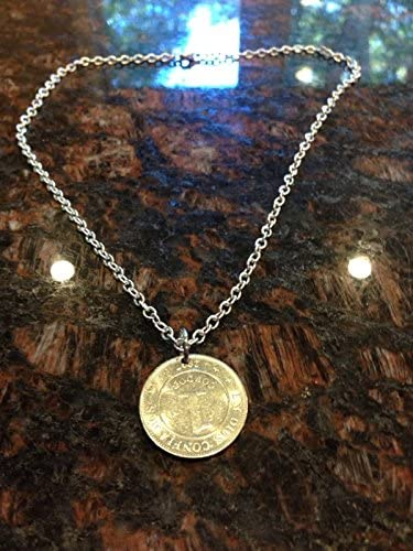 Amazon Com Nicaragua 1 Cordoba Coin Necklace Everything Else