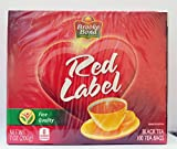Brooke Bond Red Label Black Tea, 100 Tea Bags, Fine Quality, 7 oz(200g) - Unilever