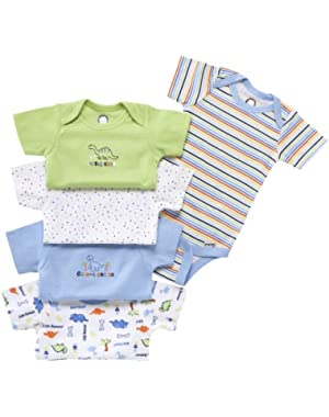 Variety Bodysuits Brand, 5 Pack, Neutral, 3-6 Months