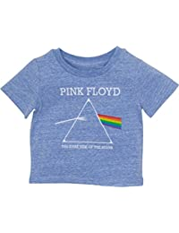 Infant Baby Boys' T-Shirt - The Dark Side Of The Moon, Heather Blue