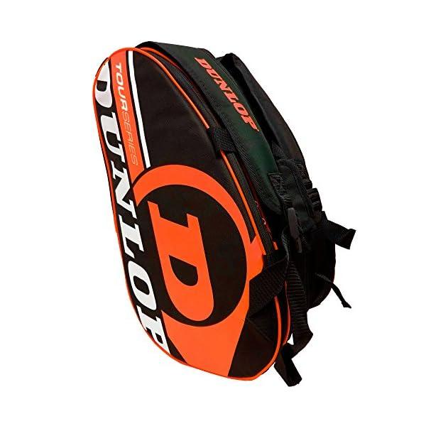 Dunlop - Borsa per racchette da paddle Tour Intro Nero/Arancione Fluo 1 spesavip