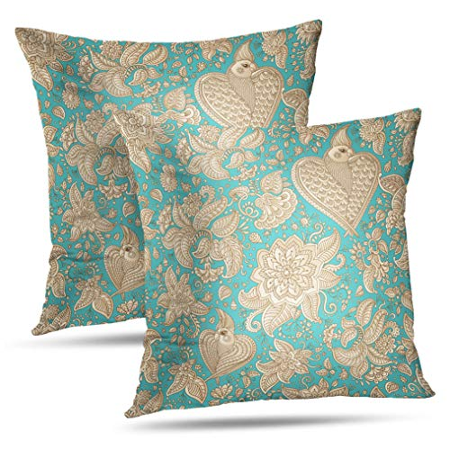 Set of 2 Tyfuty 18 x 18 inch Throw Pillow Covers Abstract for sale  Delivered anywhere in Canada