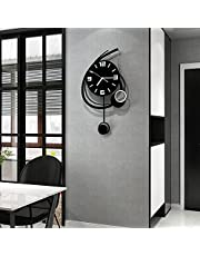 MEISD Big Creative Modern Wall Clock for Living Room Decor