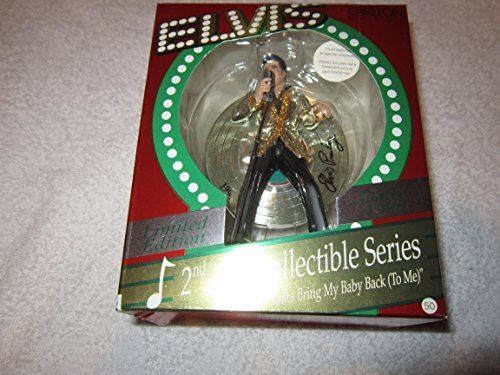 Elvis Musical Santa Bring My Baby Back 2nd in Collectible Series