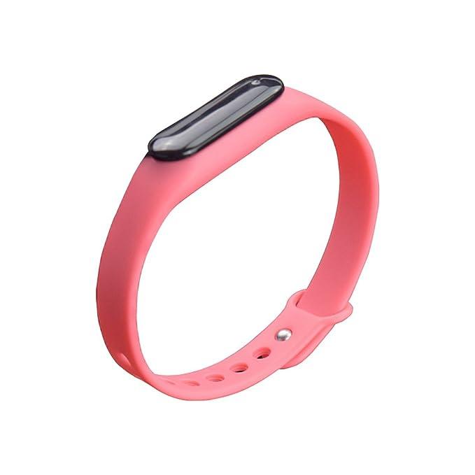 YUNTAB conectado pulsera de reloj del deporte SmartWatch Bluetooth Bluetooth 4.0 Rastreo de Actividad Sleep Heart tarifas para Smartphone Android y ...