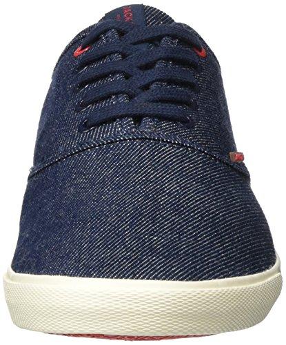 Jack & Jones Jjspider Canvas Light Blue Denim, Men's Low-Top Sneakers Blue (Blue Denim)