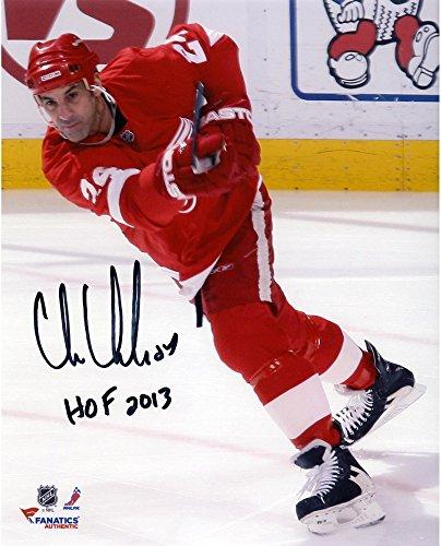 - Chris Chelios Detroit Red Wings Autographed 8
