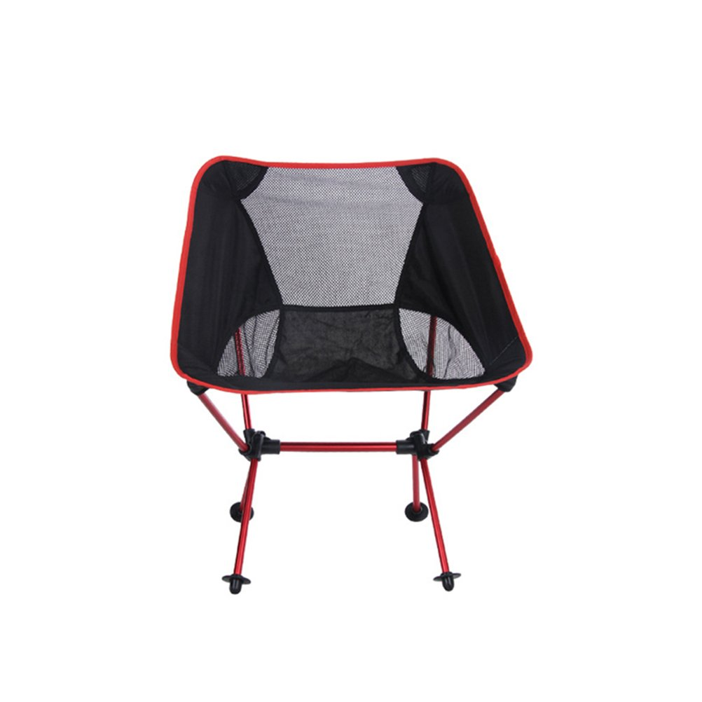 WINOMOポータブル折りたたみ椅子アウトドアキャンプハイキングピクニック釣り B073VF8FTW レッド レッド