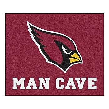 Image of Area Rugs FANMATS 14263 NFL Arizona Cardinals Nylon Universal Man Cave Tailgater Rug