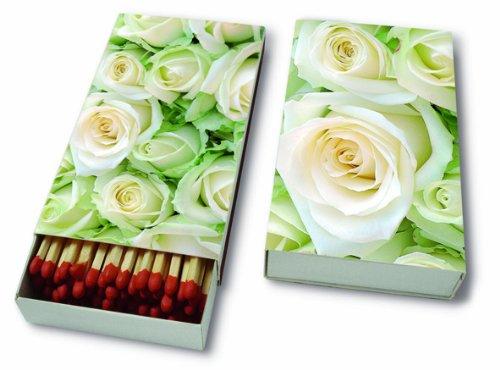 /45/fiammiferi /Rose Bianche//matrimonio//fiori/ Camino legno White Rose/