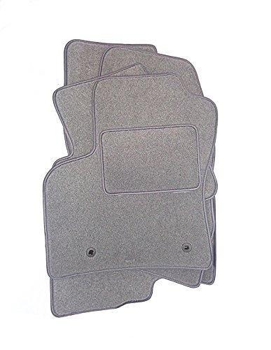 DGS Gris clair tapis de voiture en velours antidérapant ajusté/bdvmre017de G
