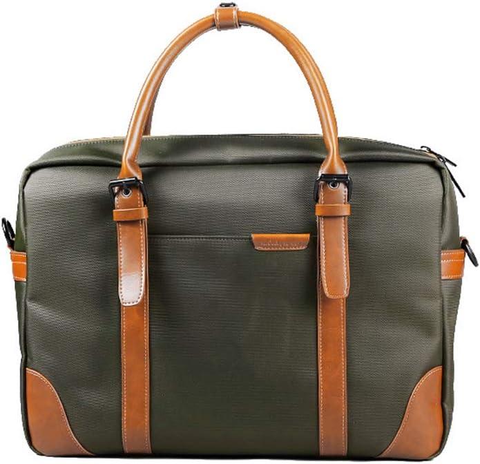 ADPTT Mens Vintage Briefcase Satchel Mens Messenger Bag Waterproof Large Satchel Shoulder Bag College Color : Blue