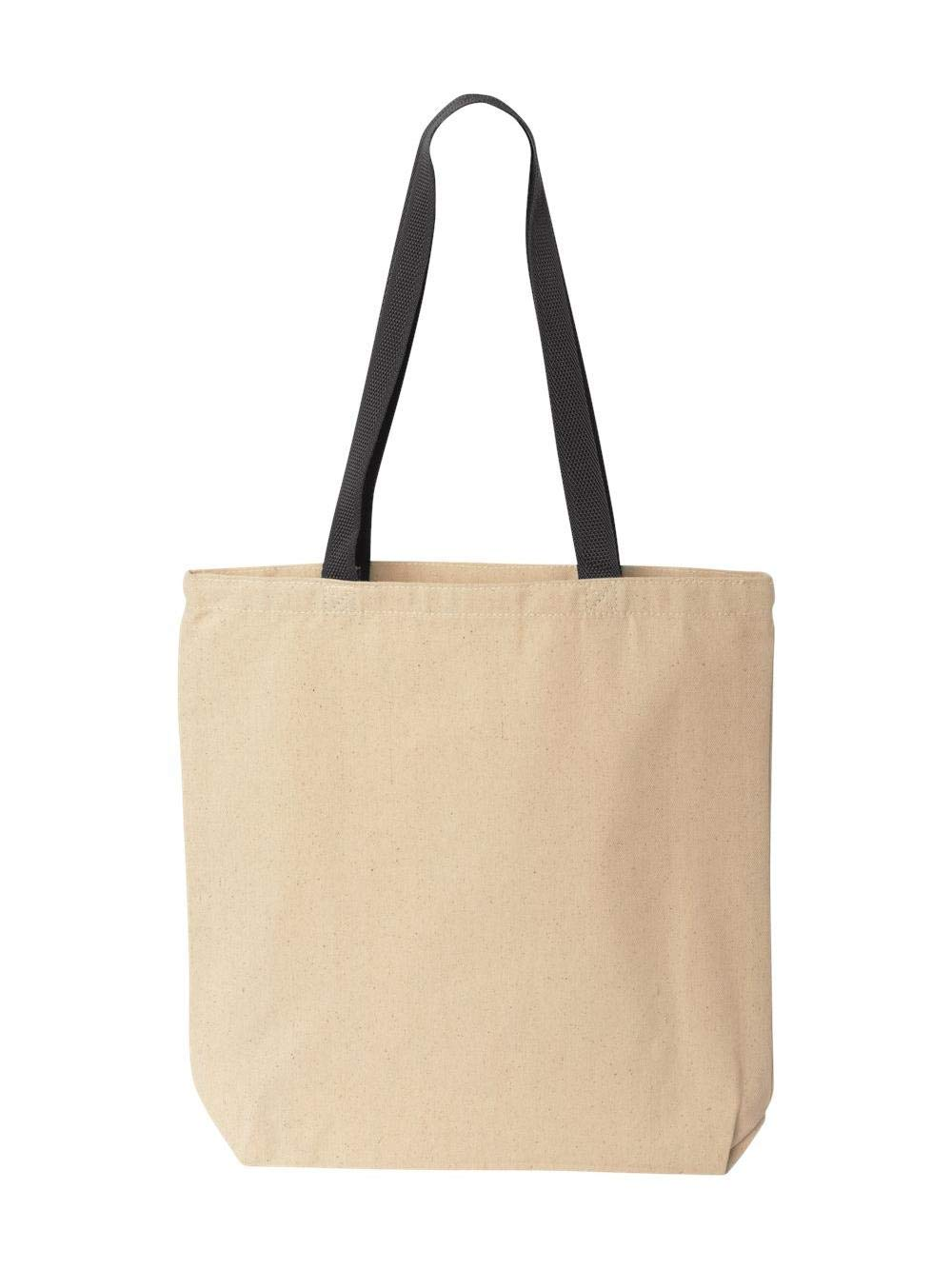 Liberty Bags Marianne Contrast Canvas Tote, One Size, Natural/Black by Liberty Bags (Image #3)