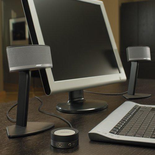 Bose Companion 5 Multimedia Speaker System – Graphite/Silver by Bose (Image #8)