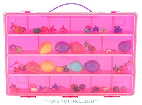 Life Made Better Splashlings Case, Toy Storage Carrying Box.