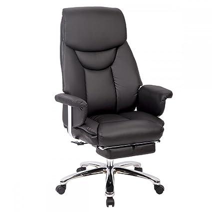 Surprising Amazon Com Racing Chair Pu High Back Executive Best Desk Machost Co Dining Chair Design Ideas Machostcouk