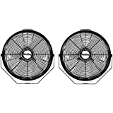 Air King 18 1/6 HP 3-Speed Totally Enclosed Pivoting Multi-Mount Fan (2 Pack)