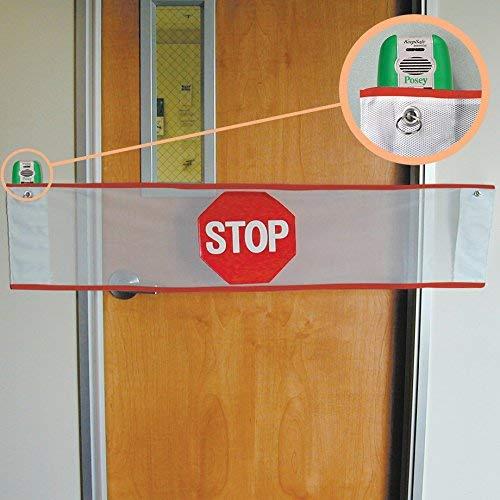 Posey 8205KE Door Guard Alarm-KeepSafe Essential Inventory Management Services BISS