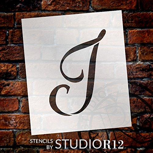 StudioR12 優雅なモノグラムステンシル I - 10インチ - STCL1909_4 B077G9KSDM