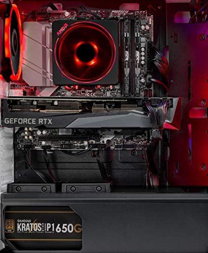 Skytech Chronos Gaming PC Desktop - AMD Ryzen 7 3700X 3.6GHz, RTX 3070 8GB, 16GB DDR4 3600, 1TB NVME, B550 Motherboard, 650W Gold PSU, Windows 10 Home 64-bit, White