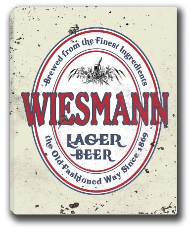 wiesmann-lager-beer-stretched-canvas-sign-16-x-20