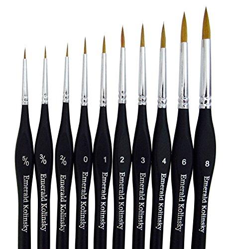 Best Professional Siberian Kolinsky Sable Detail Paint Brush
