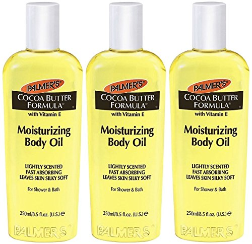Palmer's Cocoa Butter Formula Moisturizing Body Oil with Vitamin E -- 8.5 fl oz (Pack of 3) (Butter Moisturizer Formula)