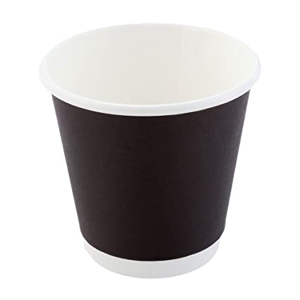 4f16810b6cf Image Unavailable. Image not available for. Color: Disposable Coffee Cups, Paper  Hot ...