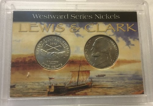 2005 P D Westward Peace Medal Louisiana Purchase Comes in hard plastic holder Uncirculated
