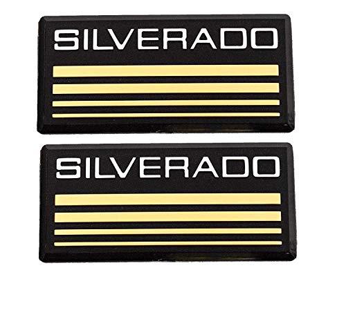 (88-98 Chevy Silverado Side Pillar Emblems Roof Cab Body Decal Tahoe Suburban)