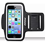 iPhone 5/5s Armband, Mpow Sweatproof Waterproof Sport Running & Exercise Armband Case With Key Holder For iPhone SE 5 5S 5C iPod Touch 5