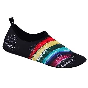 IPOTCH Zapatos de Agua Descalzo Calcetines de Playa de Buceo ...