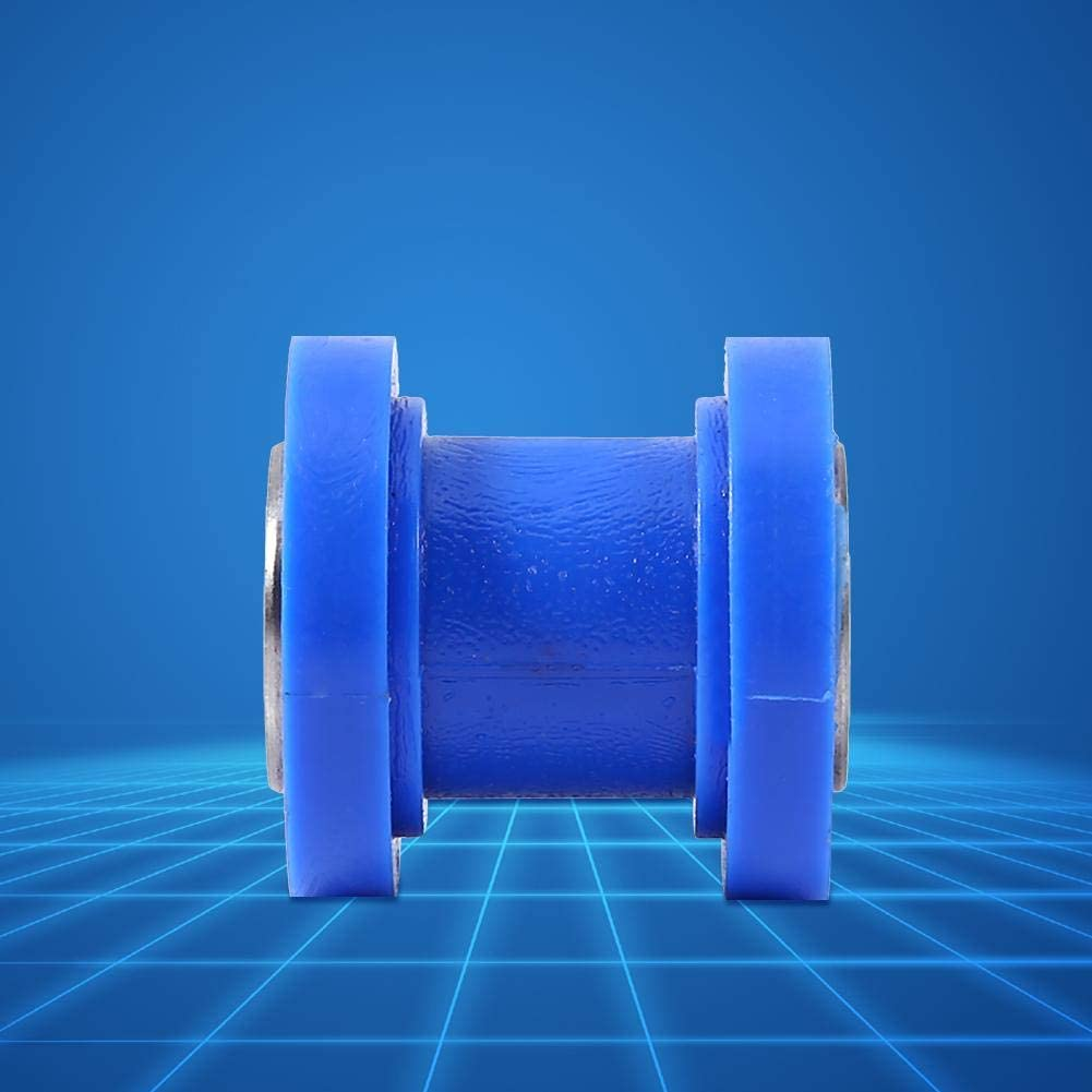 gu/ía deslizante de 10 mm Rodillo deslizante de cadena Gu/ía de rueda tensora Rodillo deslizante de cadena Gu/ía de tensor Rueda Suciedad Mini bicicleta Moto ATV azul Rodillo deslizante de cadena