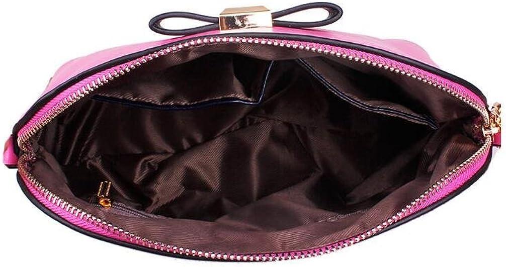 GINSIO Womens PU Leather Casual Shoulder Handbags