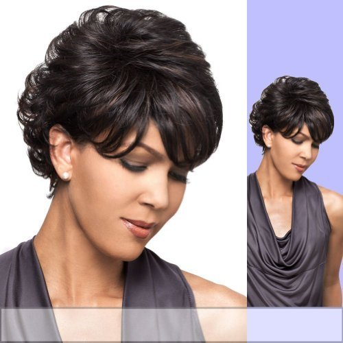 BIANCA (Foxy Lady) - Heat Resistant Fiber Full Wig in JET BLACK by Foxy ()